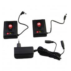 12V 1,4A batteripakke